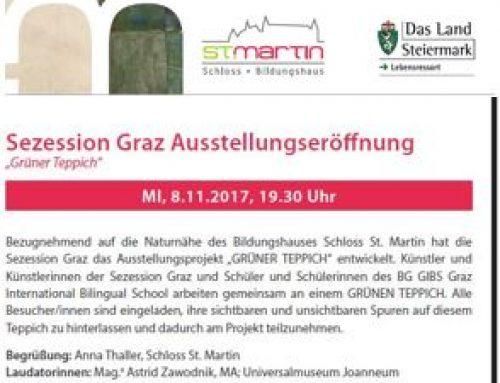 Grüne Teppich, with Sezession Graz