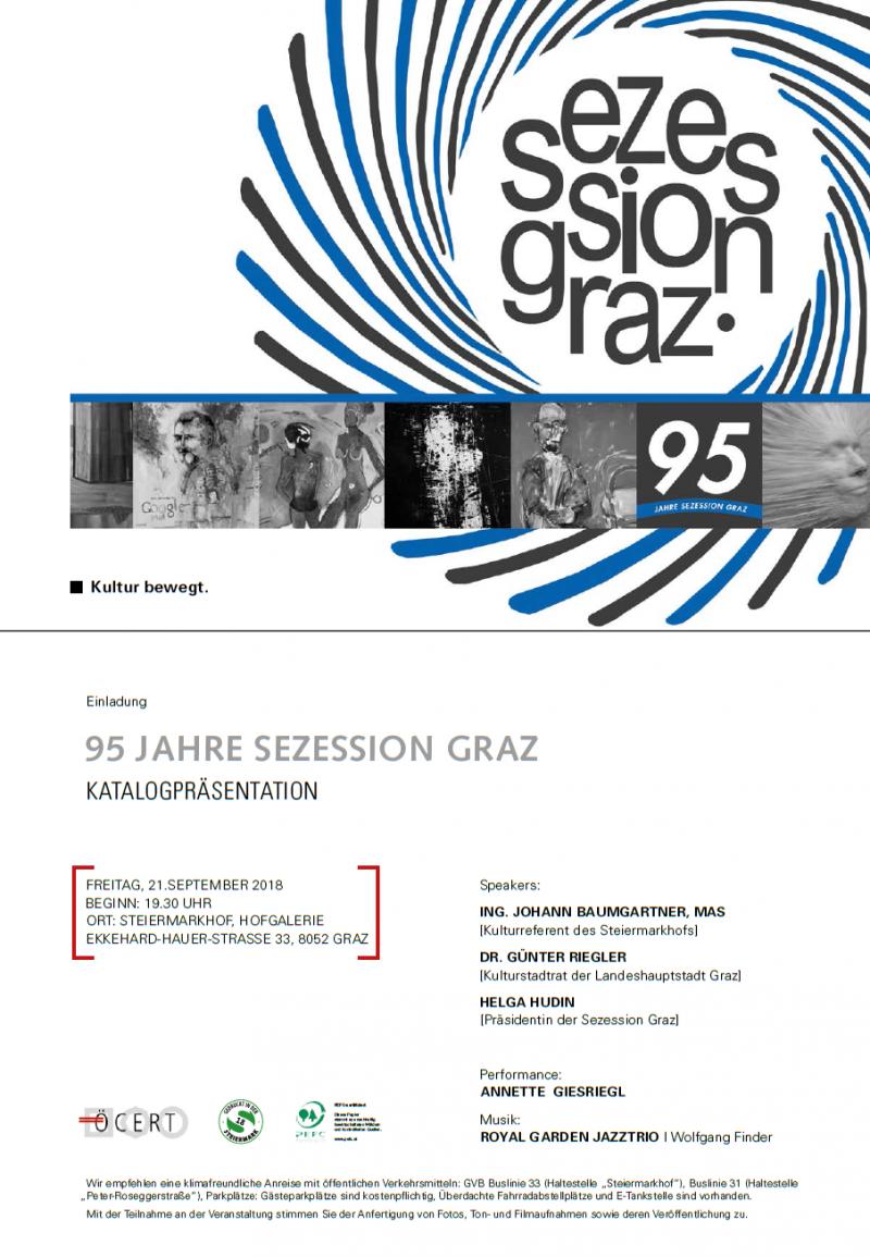 95 years art society sezession graz